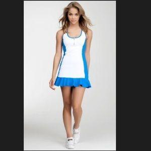 Bebe Sport Collection Colorblock Tennis Dress